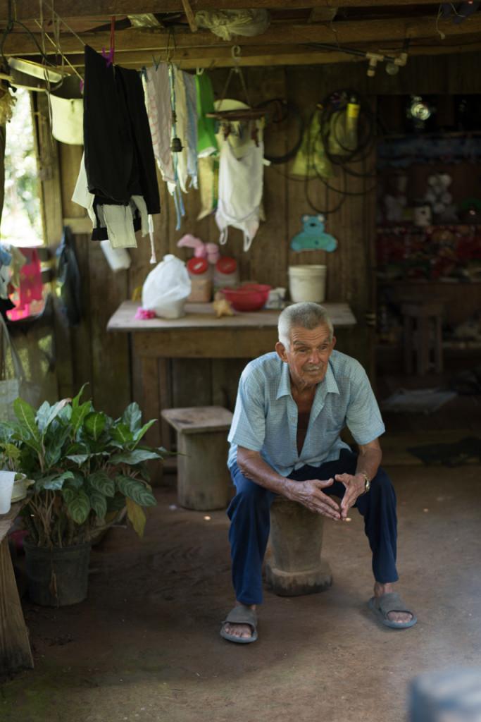 Luis est le père de 11 enfants et 27 petits-enfants