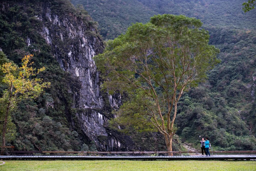 Au pied des montagnes de Taroko