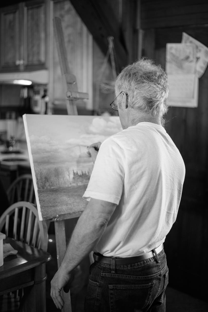 Les artistes d'ici : Donald Mercier