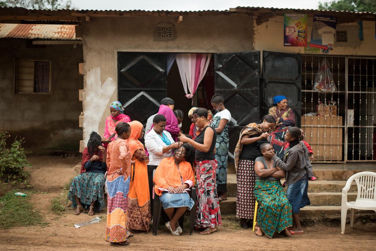 Femmes de la Tanzanie